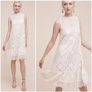 Anthropologie Floreat Manon Lace Dress